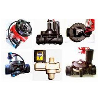 Válvulas hidráulicas y electricas